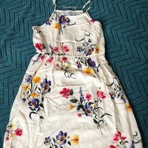 Old Navy Floral Cream Dress